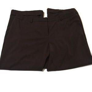 Lane Bryant brown wide leg pants size 22